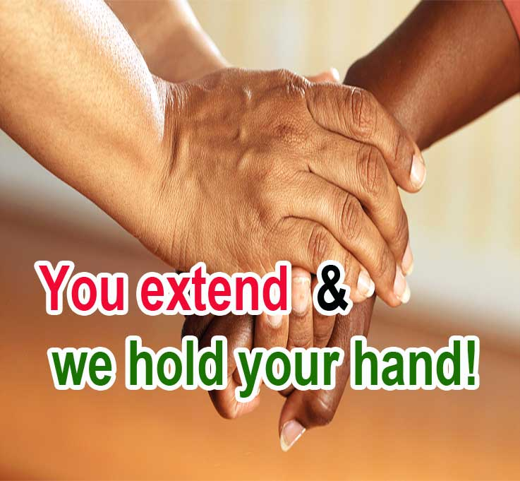 helptheelderly Helping Hand